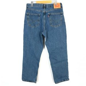 Levi's 550 relaxed fit jeans 34x29